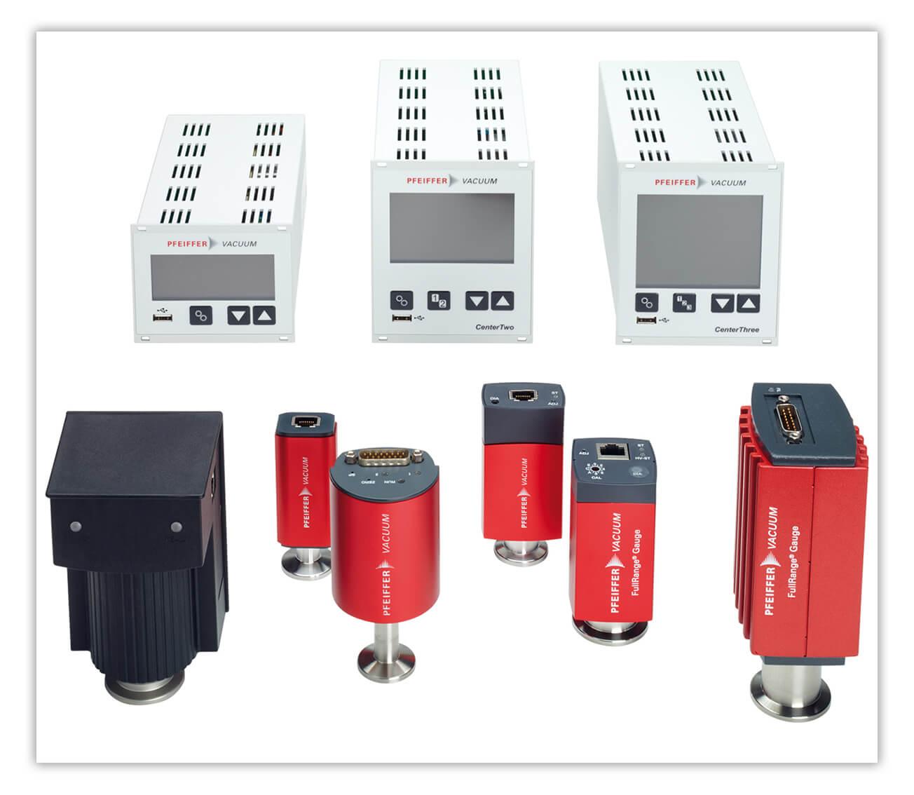 带模拟信号输出的总压力测量真空计