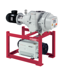 CombiLine WU 1902 with Hena 400 single-stage rotary vane pump and Okta 2000 roots pump